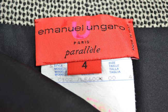 Emmanuel Ungaro Straight Pants Black, White