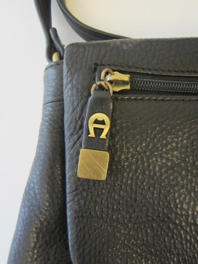 Etienne Aigner Black Messenger Bag