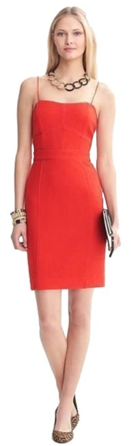 Preload https://item3.tradesy.com/images/banana-republic-vermillion-red-wool-blend-piped-corset-short-cocktail-dress-size-10-m-7370632-0-1.jpg?width=400&height=650
