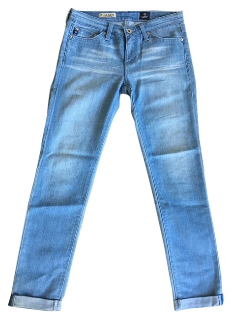 Item - Light Blue Wash The Stilt Roll Up Capri/Cropped Jeans Size 25 (2, XS)