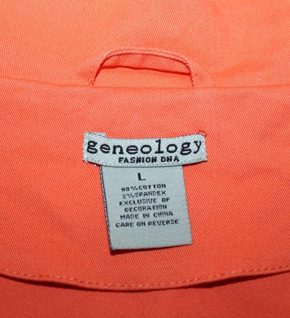 Geneology Fashion DNA CORAL Jacket