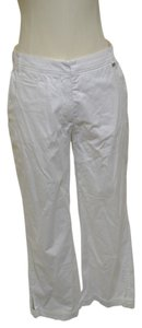 Escada Capri/Cropped Pants White