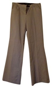 Express Boot Cut Pants Brown Stripe