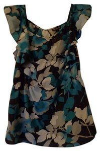 Banana Republic Top Blue Floral