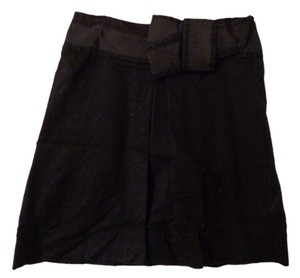The Limited Skirt Black with Bow