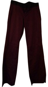 Banana Republic Boot Cut Pants Maroon