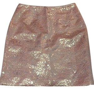 H&M Skirt Peach and Gold