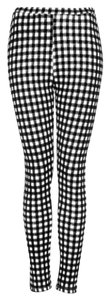 Topshop Black & White Leggings