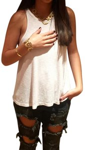 Other Gold Circular Necklace and Bracelet
