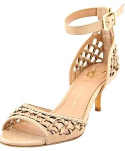 Vince Camuto Bright Gold Pumps