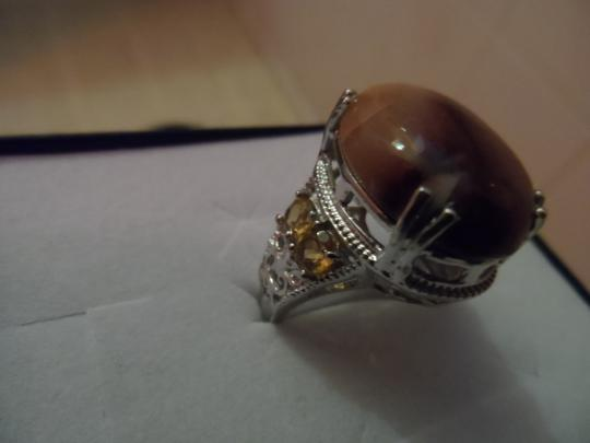 Unknown Mookite, Brazilian Citrine Ring
