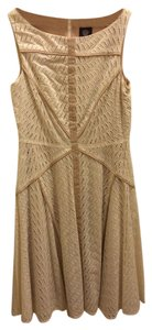 Vince Camuto Eyelet Sleeveless Dress