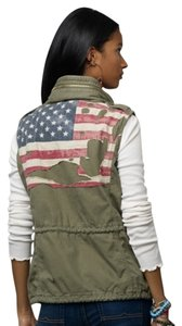 Denim & Supply Americana Army Vest