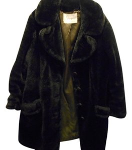 Sharpee of Minnesota Vintage Faux Fur Long Fur Coat