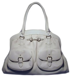 Dior Christian Tote in white