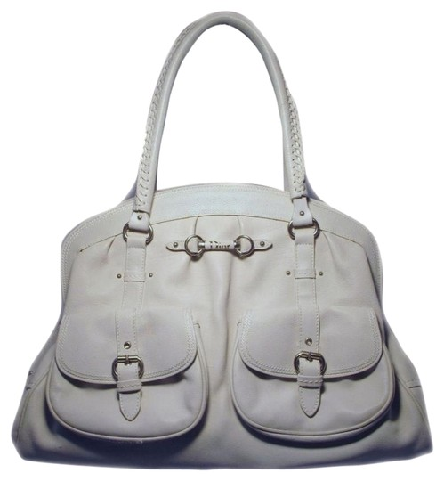 Preload https://item4.tradesy.com/images/dior-christian-shoulder-shopper-white-leather-tote-737593-0-0.jpg?width=440&height=440
