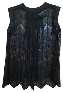 Gibson Latimer Lace Top Black
