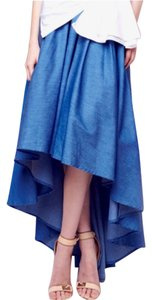 Gracia Denim Navy Dress Maxi Skirt Blue