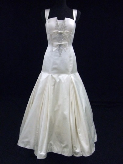 Preload https://item2.tradesy.com/images/priscilla-of-boston-light-ivory-silk-satin-gown-with-dropped-waist-wedding-dress-size-8-m-737661-0-0.jpg?width=440&height=440