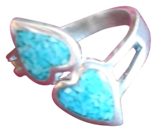 Preload https://img-static.tradesy.com/item/737694/925-crushed-turquoise-sterling-heart-size-575-ring-0-1-540-540.jpg