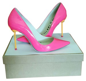 Sophia Webster Hot pink/orange Pumps