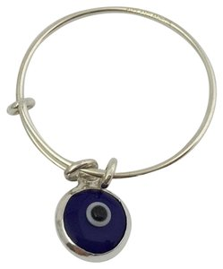 Alex and Ani Alex And Ani Expandable Evil Eye Ring, Sterling Silver, Providence Collection
