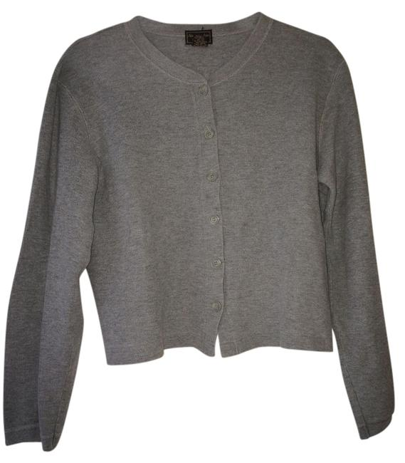 Preload https://img-static.tradesy.com/item/737917/abercrombie-and-fitch-gray-cardigan-size-12-l-0-0-650-650.jpg