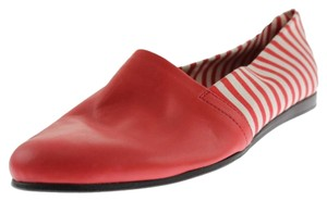 cecilia bringheli Red and White Flats