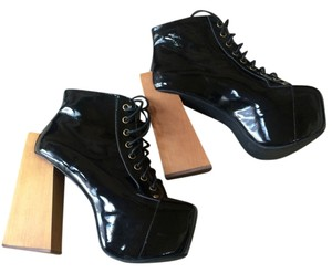 Jeffrey Campbell Black Patent Leather Platforms