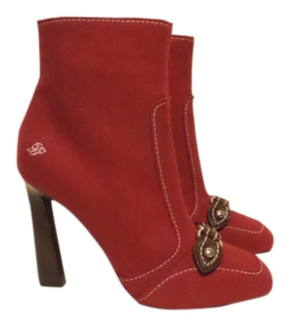 Item - Red Classic Boots/Booties Size US 9 Regular (M, B)