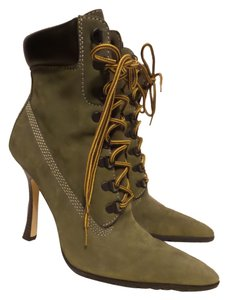 Steve Madden MILITARY GREEN Boots