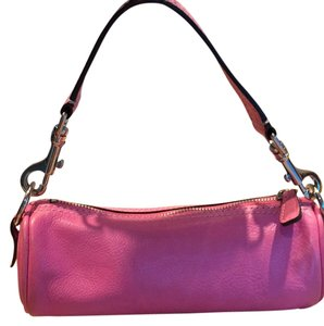 Nordstrom Pink leather Clutch