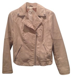 Steve Madden Nude Leather Jacket