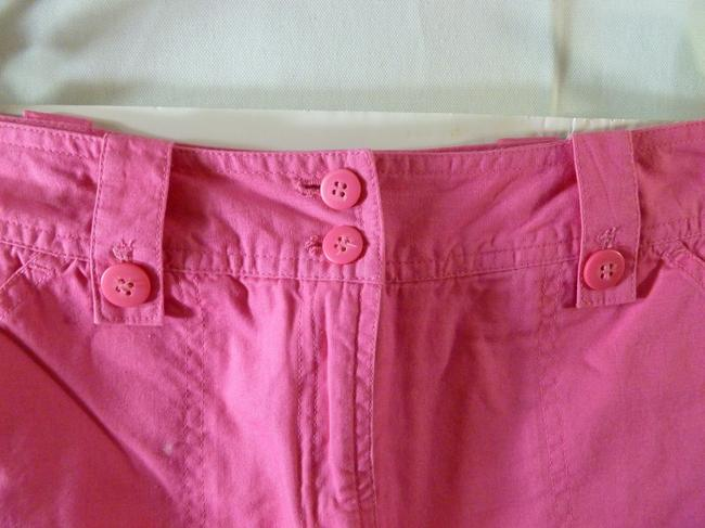 Khaki's International Mini Skirt Hot Pink