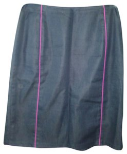 Apostrophe Skirt Navy, Purple