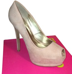 Charlotte Russe Dusty pink Platforms