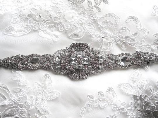 Dress Crystal Belts Crystal Embellishment Beaded Sash