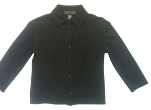 Finity Button Down Shirt Black