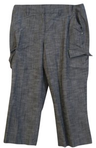 New Directions Capris Grey