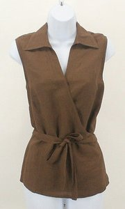 East 5th Essentials Sleeveless Top Brown