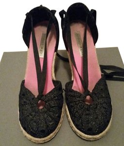 Tommy Hilfiger Wedge Espadrille black Wedges