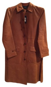 Ralph Lauren Collection Light Brown Leather Jacket