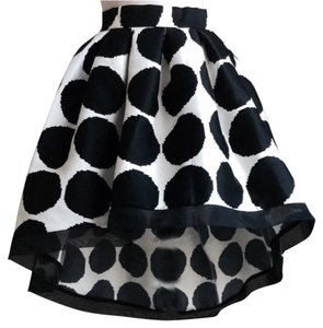 Beulah Skirt Black/White