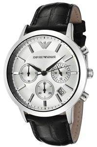 Emporio Armani Emporio Armani AR2432 Stainless Steel Mens Watch