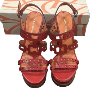Via Spiga Red Platforms