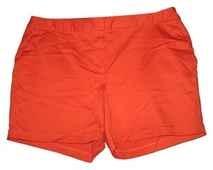 Michael by Michael Kors Mini/Short Shorts Orange