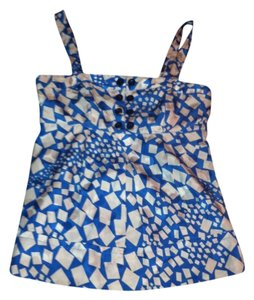 Marc by Marc Jacobs Top Blue/Silver