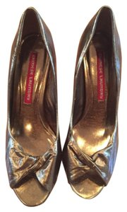 Chinese Laundry Gold Bronze Pumps