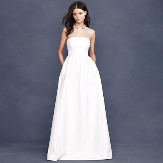 Item - Ivory Poly/Cotton/Silk Lucinda Ball Gown Traditional Wedding Dress Size 6 (S)