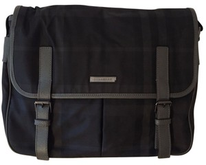 Burberry Charcoal Messenger Bag